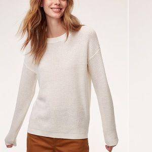 Aritzia Wilfred Free Isabeli sweater